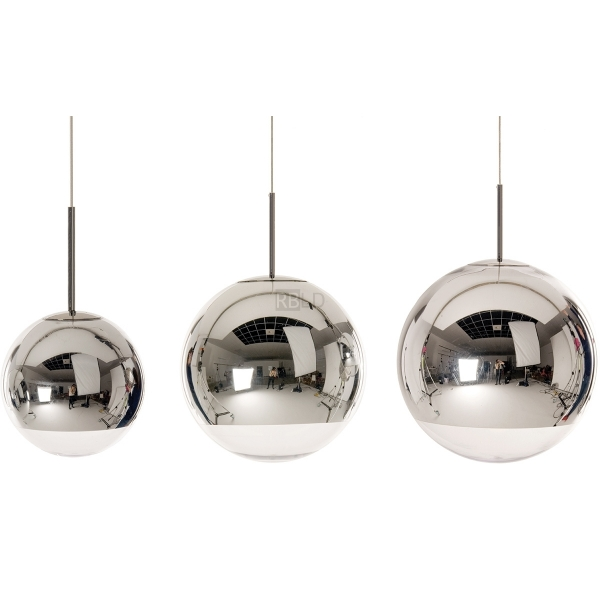 suspension lamp tom dixon mirror ball chrome pendant order online. Black Bedroom Furniture Sets. Home Design Ideas