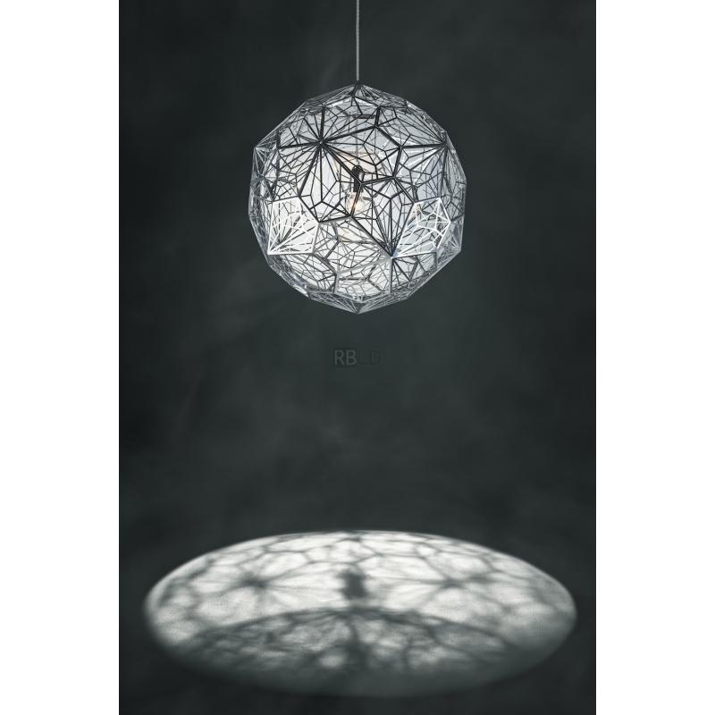 suspension lamp tom dixon etch web pendant order online. Black Bedroom Furniture Sets. Home Design Ideas