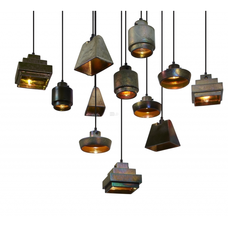 suspension lamp tom dixon lustre round wedge square flat. Black Bedroom Furniture Sets. Home Design Ideas