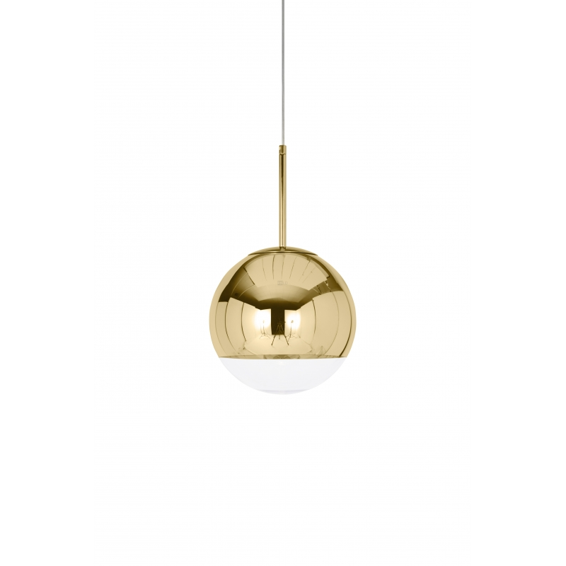 Suspension Lamp Tom Dixon Mirror Ball Gold Pendant