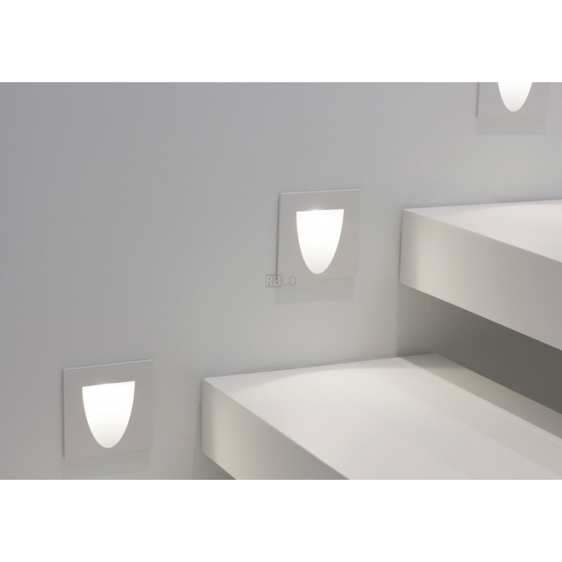 wall recessed lamp wever ducre 39 15 smile in order online. Black Bedroom Furniture Sets. Home Design Ideas