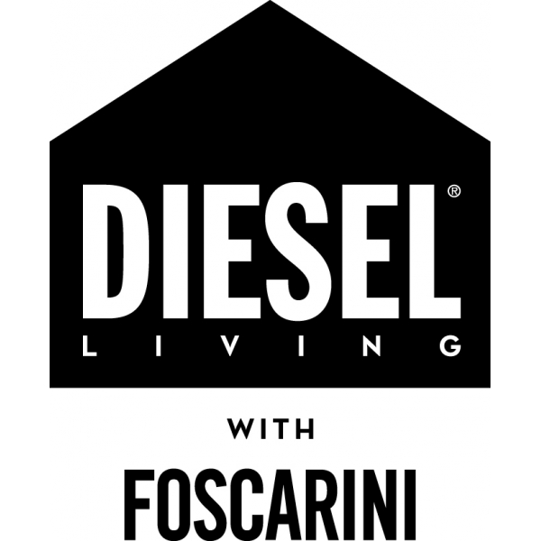 Manufacturer logo:  DIESEL WITH FOSCARINI